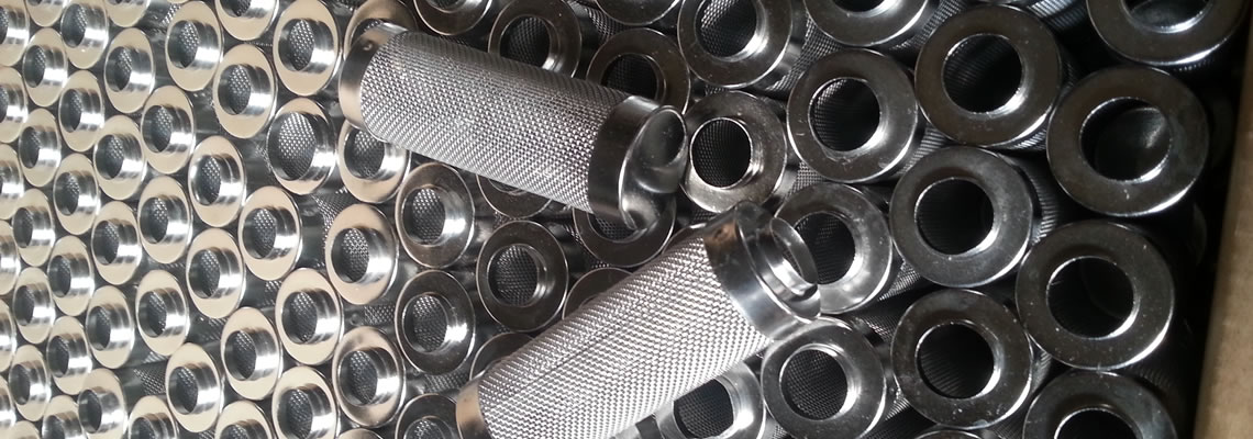 Woven wire cloth filter cylinders