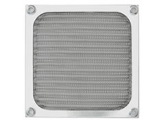 Bathroom aluminum air filter with stainless steel frame