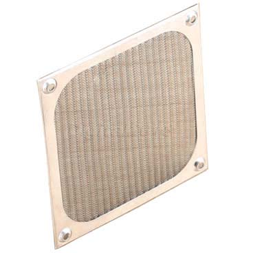Dustproof aluminum mesh filter for PC computer cooling fan