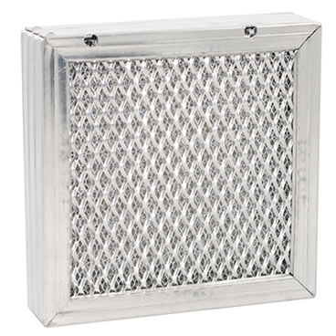 Heavy duty expanded metal air filter for restaurant kitchen hoods