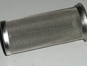 Stainless steel woven wire mesh used in hot gas filtration