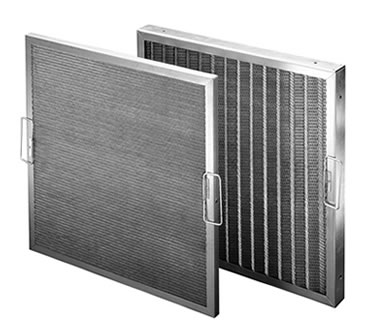 Metal air filters with plain & pleated structure are designed with handles