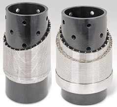 Perforated pipe based wedge wire screen for water well