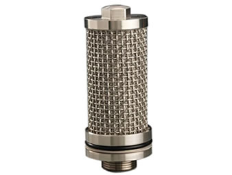 Stainless steel plain weave sintered mesh cartridge filter