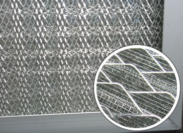 Galvanized Stainless Steel Air Filter More Durable