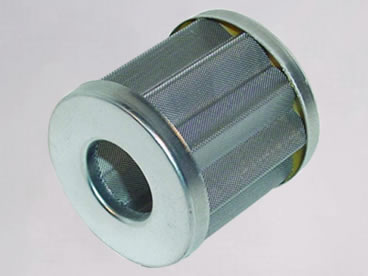 Stainless steel pleated mesh filter cylinder