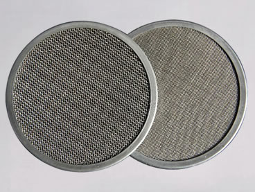 Twill & plain dutch wire disc mesh for oil filtration