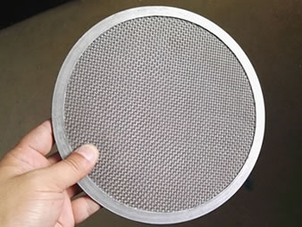 Sintered Stainless Steel Mesh Filter Disc