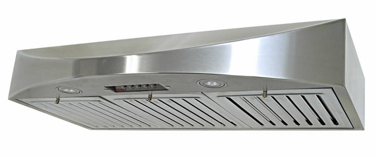 Stainless steel baffle filters for a residential kitchen