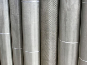 Stainless steel mesh filter - twill dutch weave