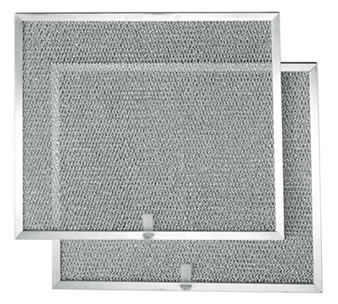 Square washable aluminum air filter suitable for most residential range hoods
