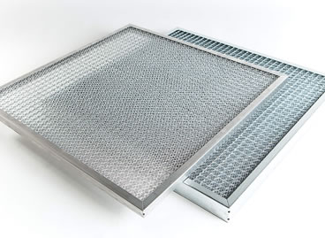 Metal mesh for air & grease filtration is washable